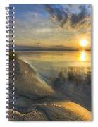 Lake Glow Spiral Notebook