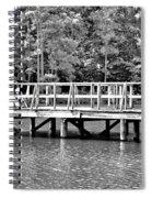Lake Greenwood Pier Spiral Notebook