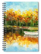 Lake Impression Spiral Notebook