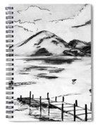 Lake In Guatemala Spiral Notebook
