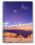 Lake In Rano Raraku Crater Spiral Notebook