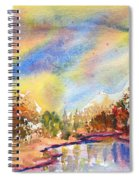 Lake In The Woods Spiral Notebook