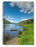 Lake In Wales Spiral Notebook