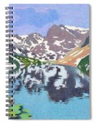 Lake Isabelle Colorado Spiral Notebook