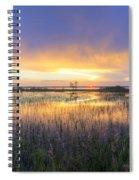 Lake Jackson Sebring Florida Panorama Spiral Notebook