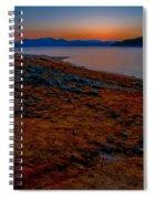 Lake Jocassee Sunrise Spiral Notebook
