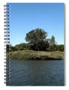 Lake Kirsty At Tifft Nature Preserve Buffalo New York Spiral Notebook