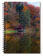 Lake Lodge Spiral Notebook