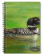 Lake Loon Spiral Notebook