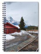 Lake Louise Depot Spiral Notebook