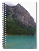 Panoramic Lake Louise, Alberta - Morning Reflections Spiral Notebook