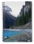 Lake Louise North Shore - Canada Rockies Spiral Notebook