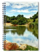 Lake Lucky Spiral Notebook