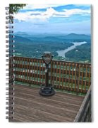 Lake Lure Overlook Spiral Notebook