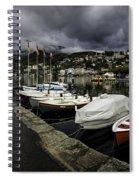 Lake Maggiore Boats 1 Spiral Notebook