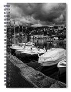 Lake Maggiore Bw 1 Spiral Notebook