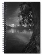 Lake Mcdonald In The Spring Spiral Notebook