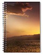 Lake Mead Sunrise Spiral Notebook
