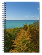 Lake Michigan Cut River 1 Spiral Notebook