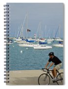 Lake Michigan - Downtown Chicago Spiral Notebook