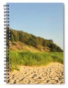 Lake Michigan Dunes 01 Spiral Notebook