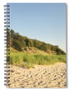 Lake Michigan Dunes 02 Spiral Notebook
