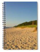 Lake Michigan Dunes 03 Spiral Notebook