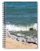 Lake Michigan Shore Spiral Notebook