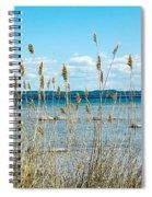 Lake Michigan Shore Grasses Spiral Notebook