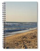 Lake Michigan Shoreline 02 Spiral Notebook