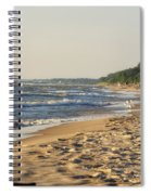 Lake Michigan Shoreline 03 Spiral Notebook