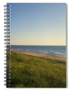 Lake Michigan Shoreline 05 Spiral Notebook