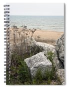 Lake Michigan Shoreline Spiral Notebook