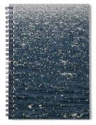 Lake Michigan Sparkling Water Spiral Notebook