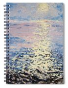Lake Michigan Sunrise Spiral Notebook