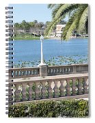 Lake Mirror Promenade Spiral Notebook