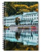 Lake Morey Inn And Resort Spiral Notebook