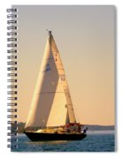 Lake Murray Sc Sailing Spiral Notebook