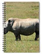 Lake Nakuru White Rhino Spiral Notebook