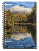 Lake Near Olmstead Point Yosemite Spiral Notebook