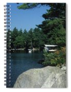 Lake Norway 07 Spiral Notebook