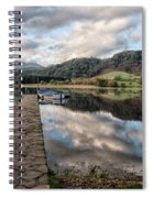 Lake Of Menteith Spiral Notebook