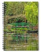 Lake Of Monet Spiral Notebook