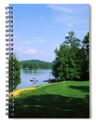 Lake On A Golf Course, Legend Course Spiral Notebook