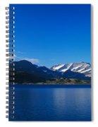 Lake On Mountainside, Sorfolda, Bodo Spiral Notebook