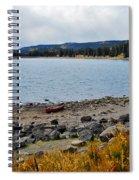 Lake On The Grand Mesa Colorado Spiral Notebook