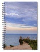 Lake Ontario At Scarborough Bluffs Spiral Notebook