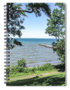 Lake Ontario At Webster Park Spiral Notebook