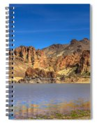 Lake Owyhee Spiral Notebook