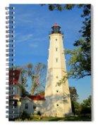 Lake Park Light House 2 Spiral Notebook